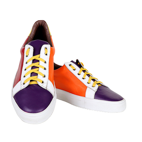 multi coloured formal Sneakers by Mona Matthews